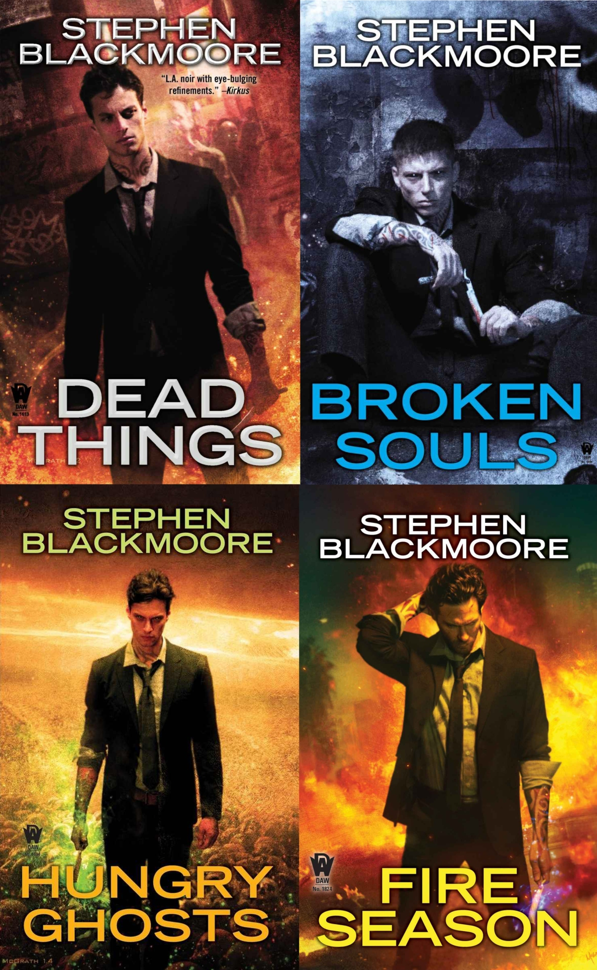 Eric Carter Series Covers
