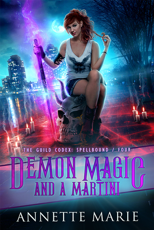 Book Review: Demon Magic and A Martini, The Guild Codex: Spellbound – Book #4