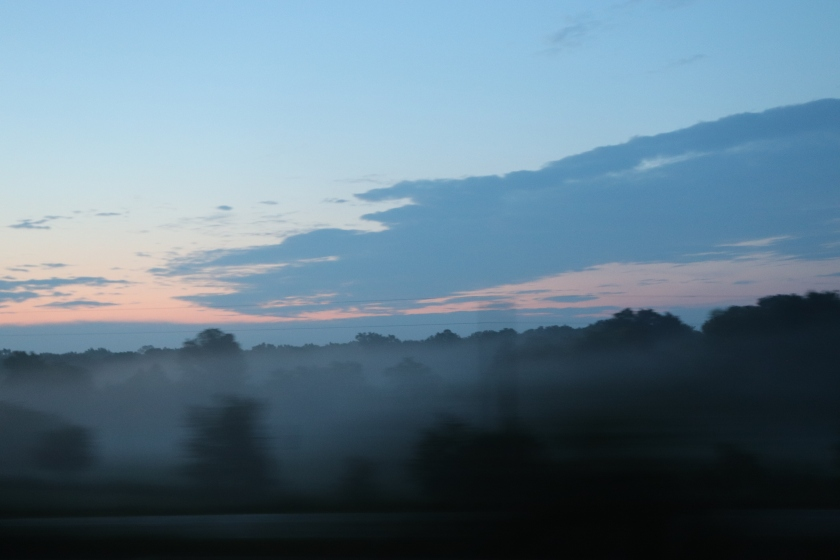 Foggy Sunrise On The Move