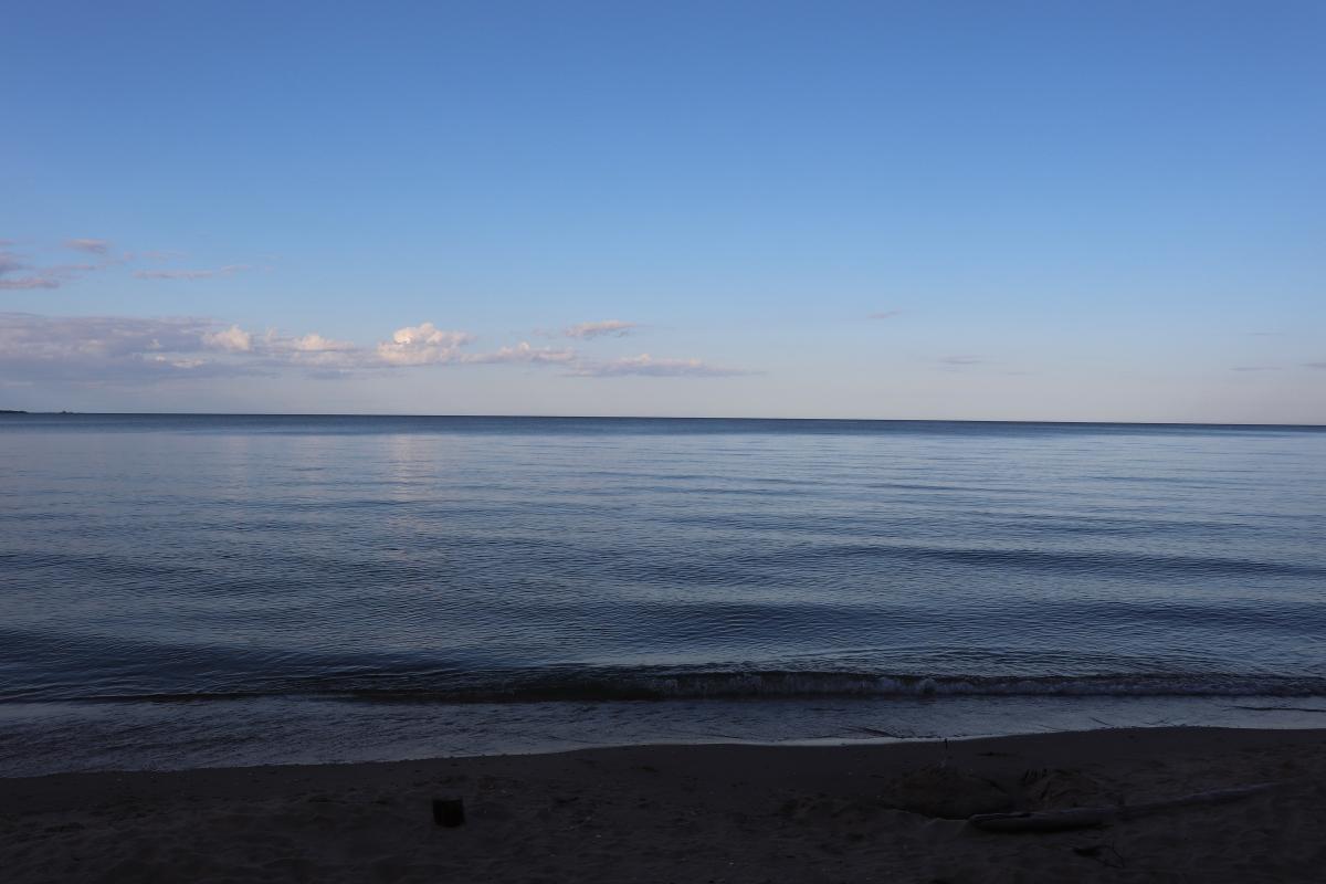 Bay Side LakeMichigan