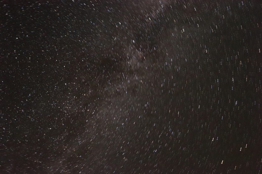 First Attempts: Milky Way Galaxy : Long Exposure