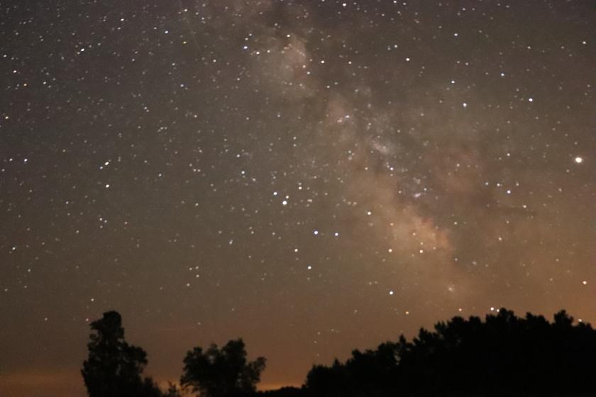 Milky Way Galaxy : Long Exposure