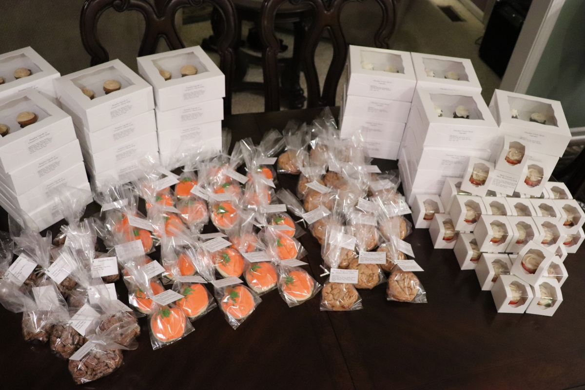 Bake Sale Items 2019