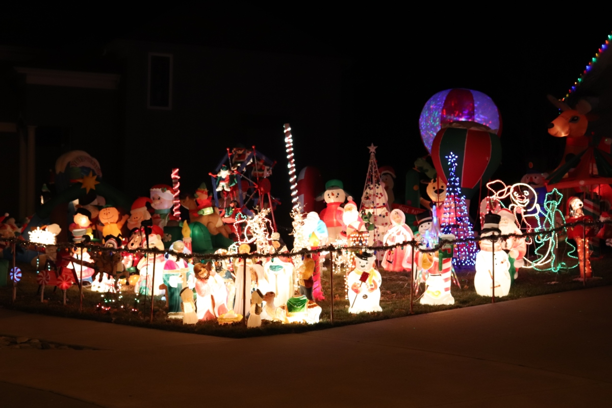 Annual Holiday Lights Tour