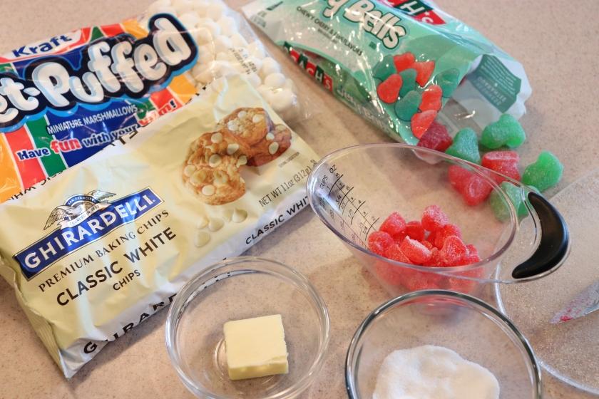 Nougat Candy - Ingredients