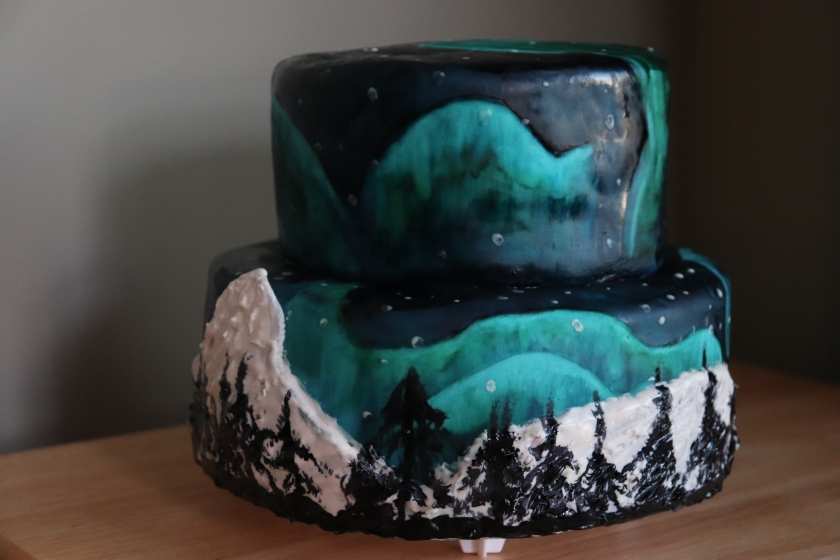 Northern Lights Cake