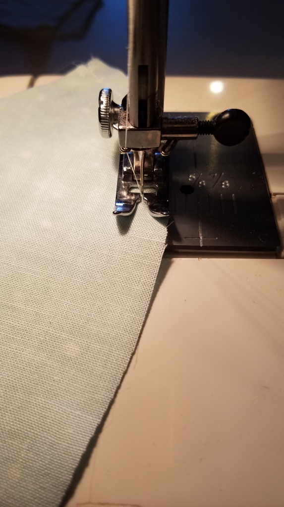 Face Mask Project - Sewing Seam Width