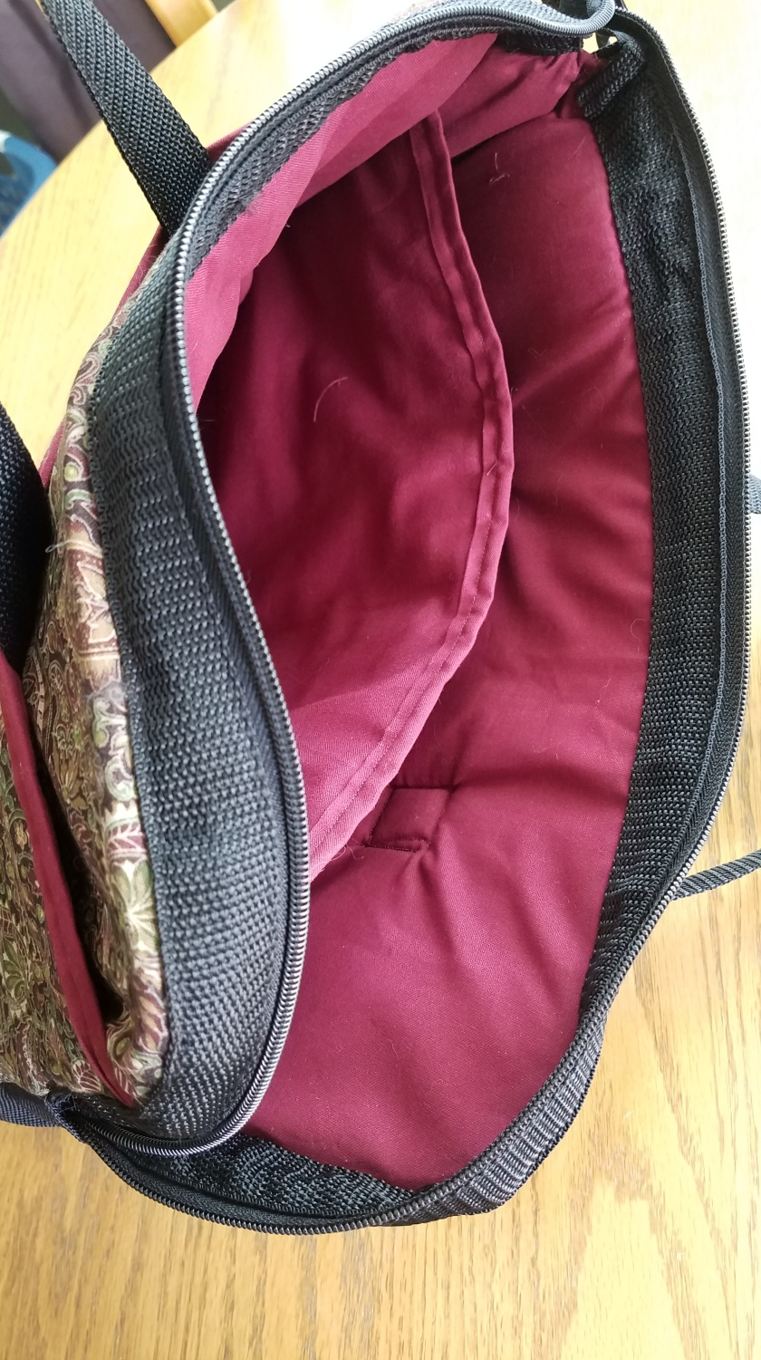 Laptop Bag: Finished Inside