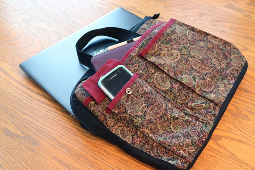 Laptop Bag: Finished With Goodies Shown