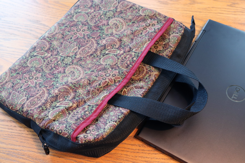 Laptop Bag: Finished Back