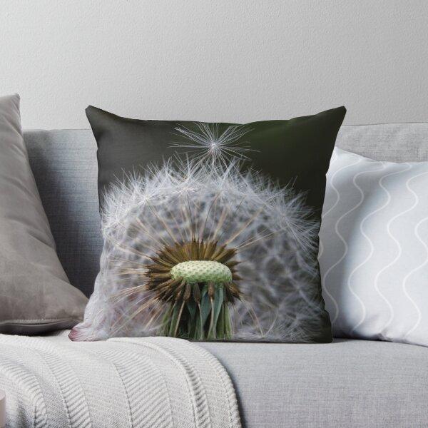 Dandelion Seed Throw Pillow