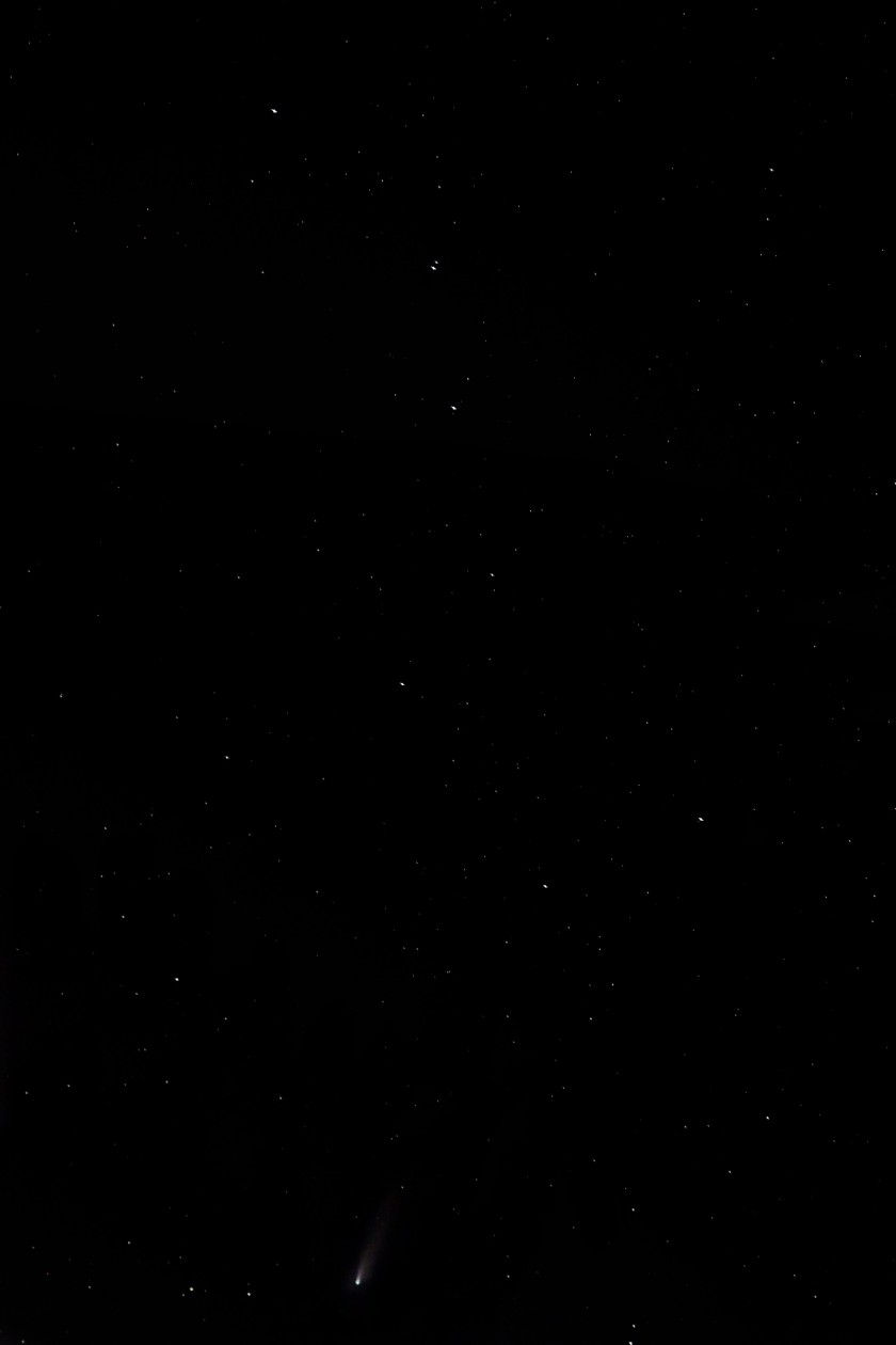NEOWISE & The Big Dipper