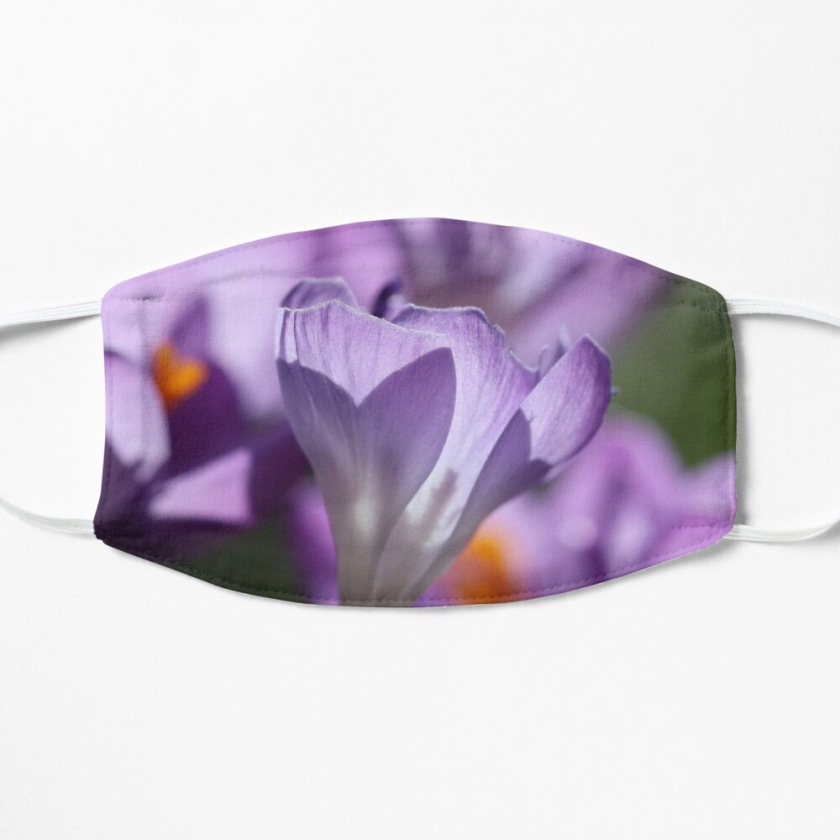 Purple Crocus Imperfections Mask