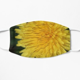 Yellow Dandelion Curls Mask