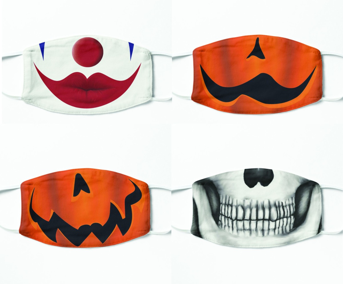 Redbubble Halloween Masks