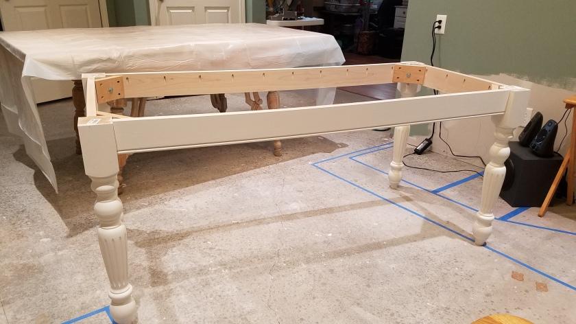 Table Base: Assembled