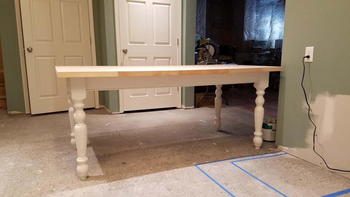 Craft Room Project: I Have A Table!