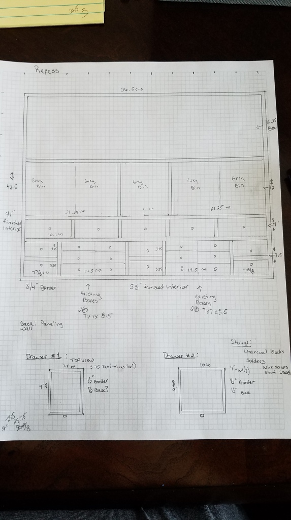 Recessed Area Design Layout