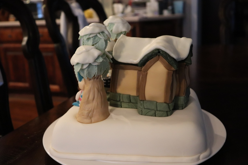 Animal Crossing Cake