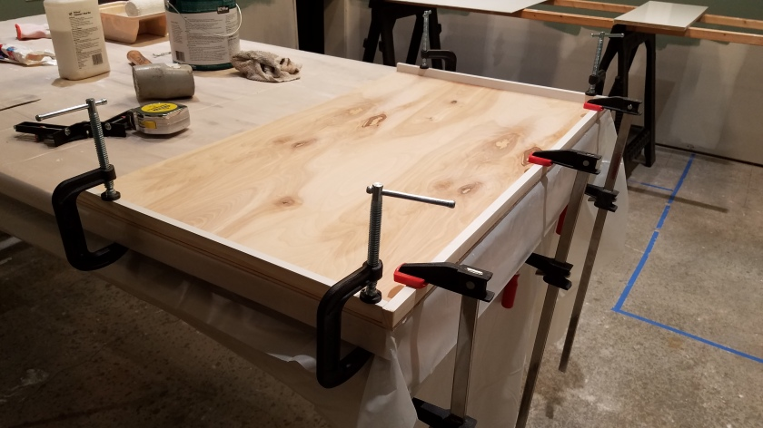 White Cabinet: New Surface Under Construction