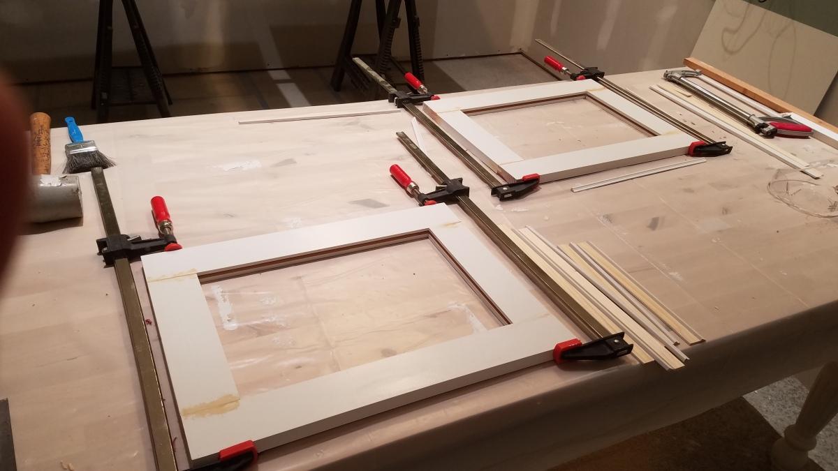 Craft Room Project: Glass Door ReplacementsStarted