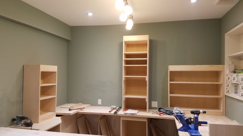 3 Of The Upper Cabinets Done