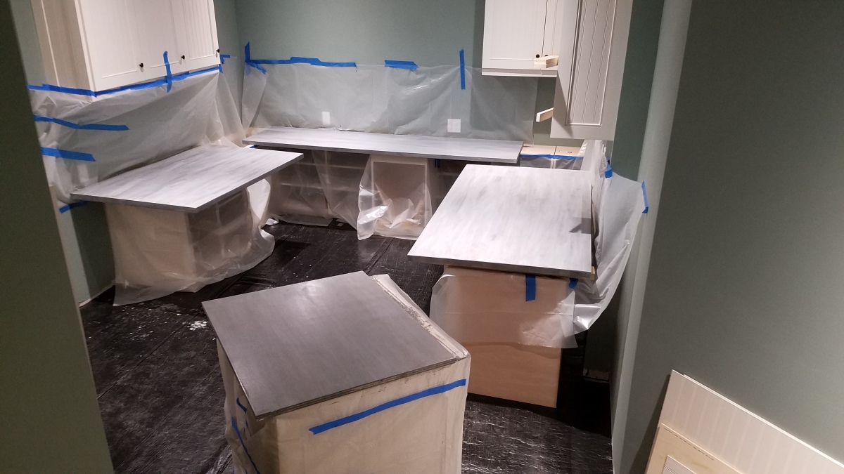 Craft Room Project:Counters