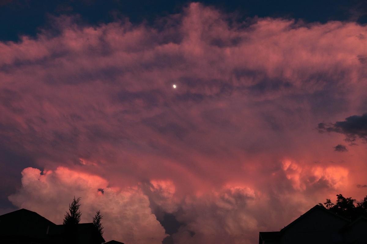 Summer Sunset Storm