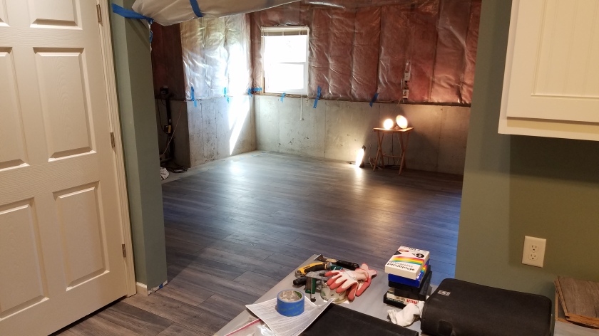 Flooring Done: View From Craft Studio