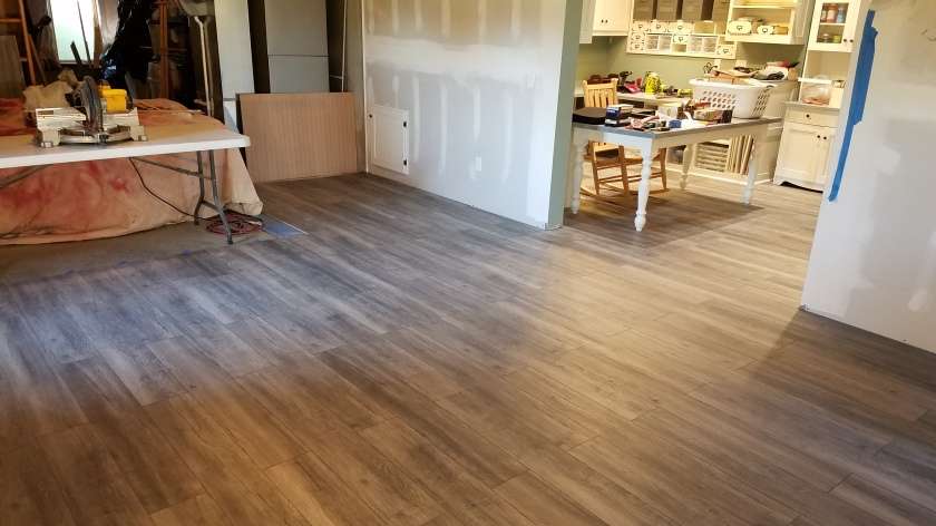 Flooring Done 2nd Room